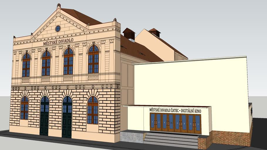 Městské divadlo a digitální kino Žatec