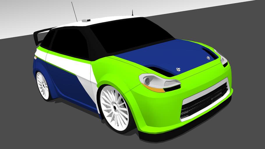 2010 Rogue Azure R300 WRC