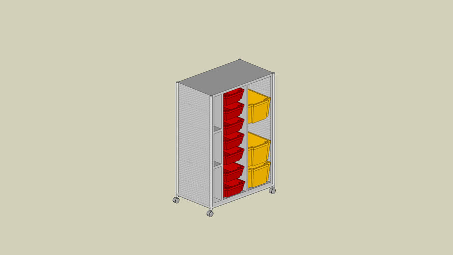 VS Series600 Mobile Storage