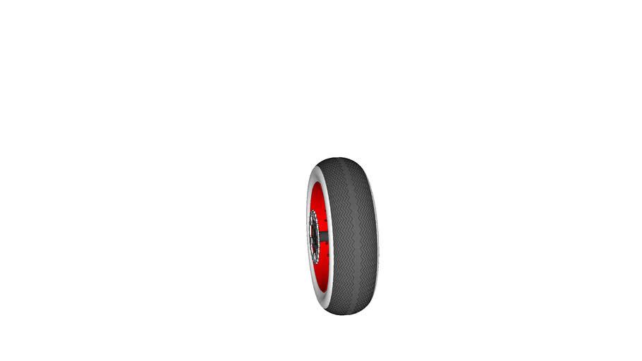 60 cm x 18 cm motorcycle wheel