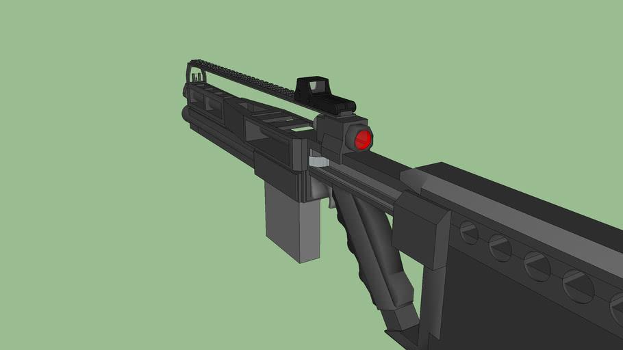 M88 Assault Rifle(nearly done)