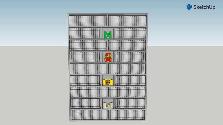 N64 Display Shelf