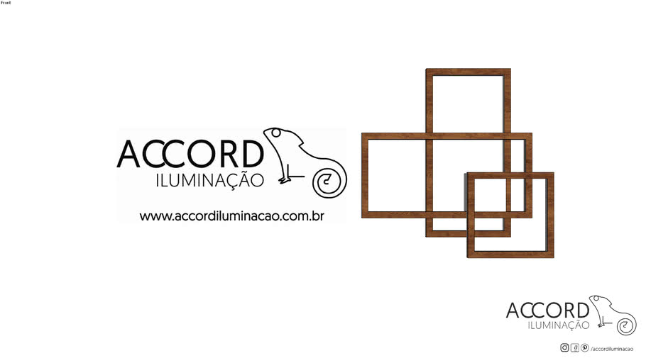 Plafon Accord Frame 5082