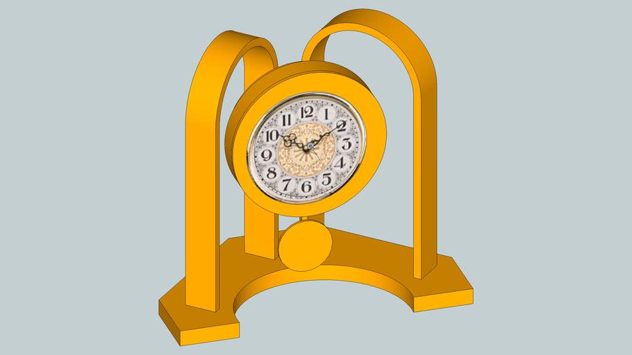 Steam Bent Clock