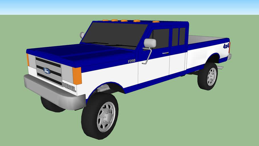 1987-1992 Ford F250 Diesel