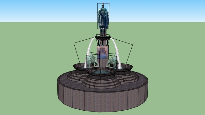 Brunnendenkmal Freiberg
