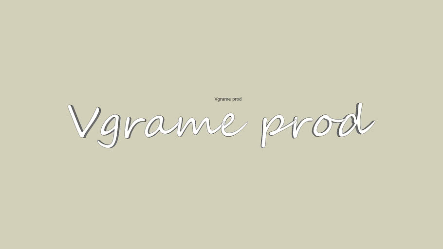 logo Vgrame prod