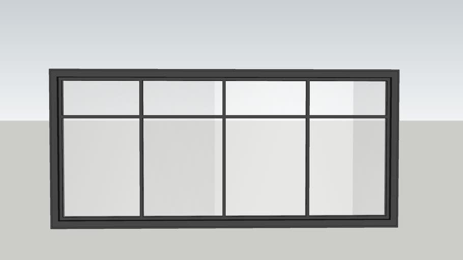 4 panel window