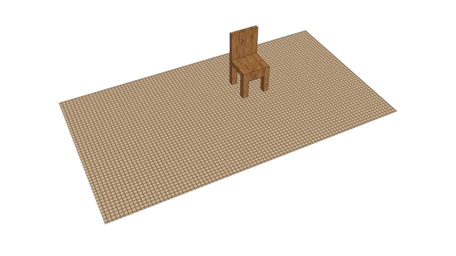 chair on mat
