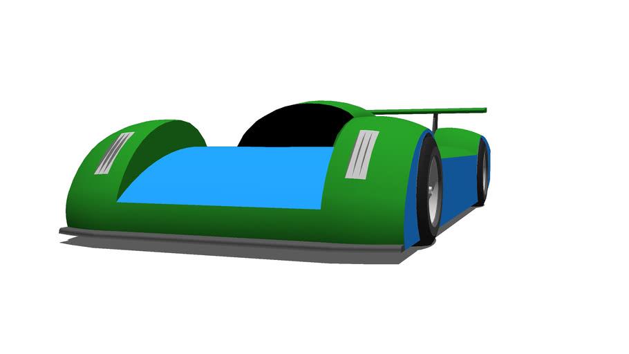 TD LMP1 Race car