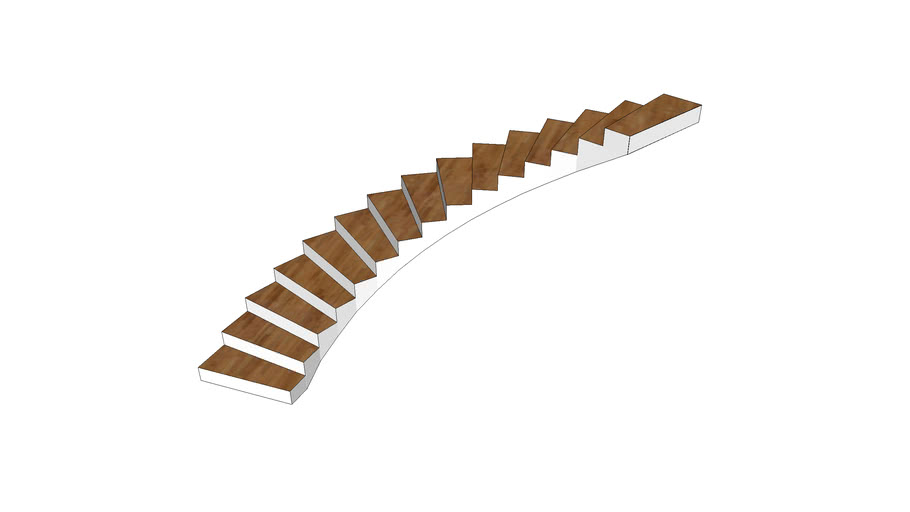 120 Degree Turn Stair Case