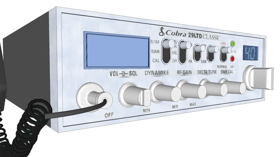 Cobra 29LTD cb radio CLASSIC