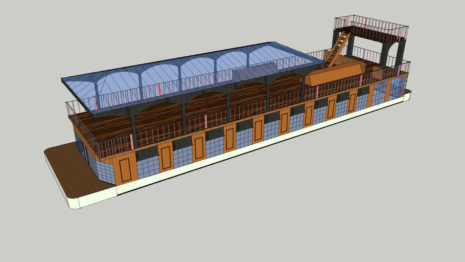 Astoria House Boat (David Gilmour's)