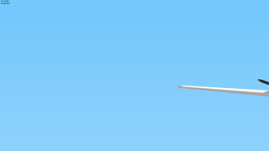 United Express EMB-120 Brasilia Landing in SFO, San Francisco, USA.