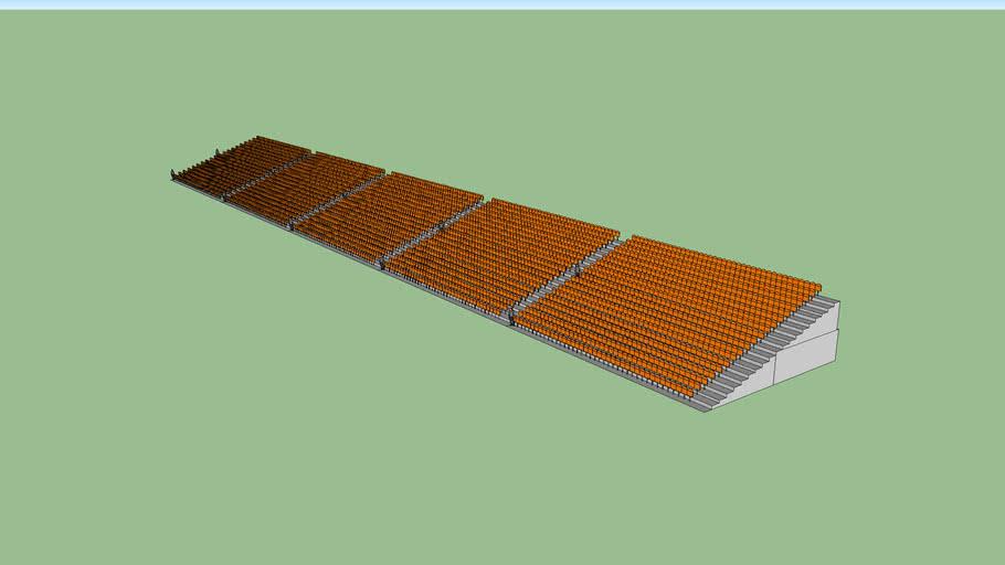 4000 stadium seats_orange