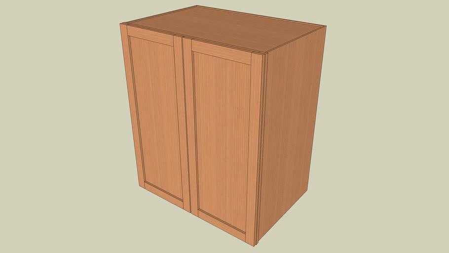 Wall_Cabinet_2Door_42Hx36Wx24D_shaker
