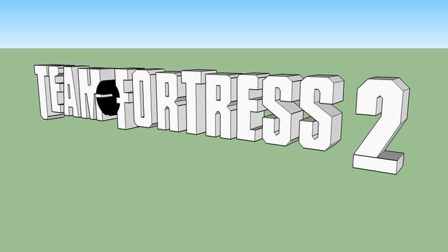 Team Fortress 2 Logo 3d Warehouse