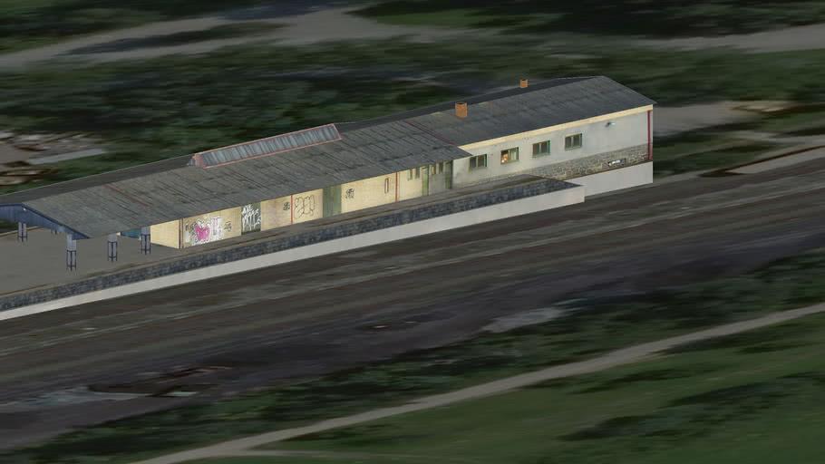 Sklad nové vlakové nádraží