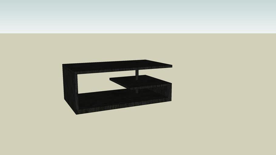 Table Basse Noir Bo Concept 3d Warehouse