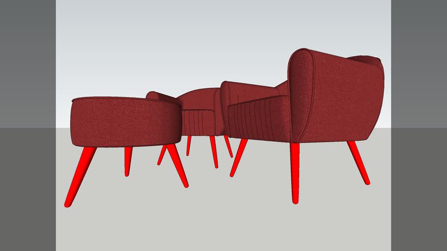 visitor chair kayus