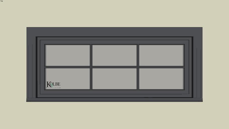 """Kolbe Ultra Inswing Rectangular Transom SPUT41120 F.S.4'-11 7/16x 1'-11 1/2""""R.O.4'-11 15/16"""" x 2'-0"""""""