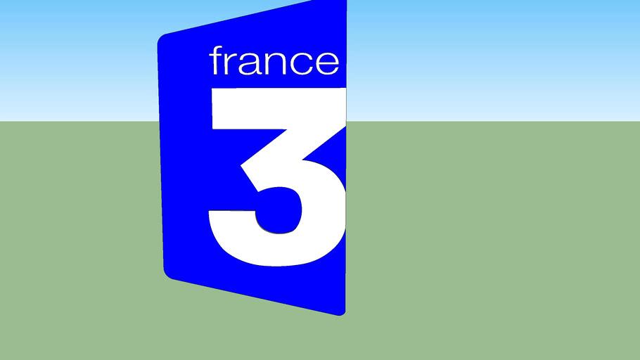 France 3 Logo (2002-2008)