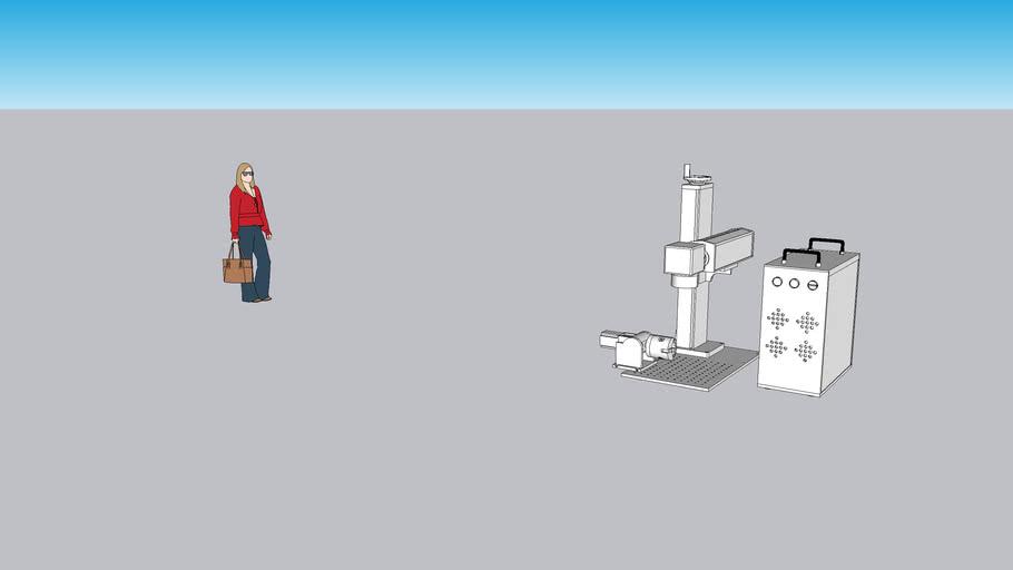 Marcadora laser Fibra optica