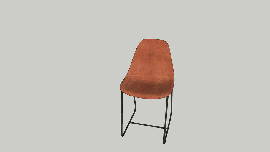 CB2 - Roadhouse Leather Chair