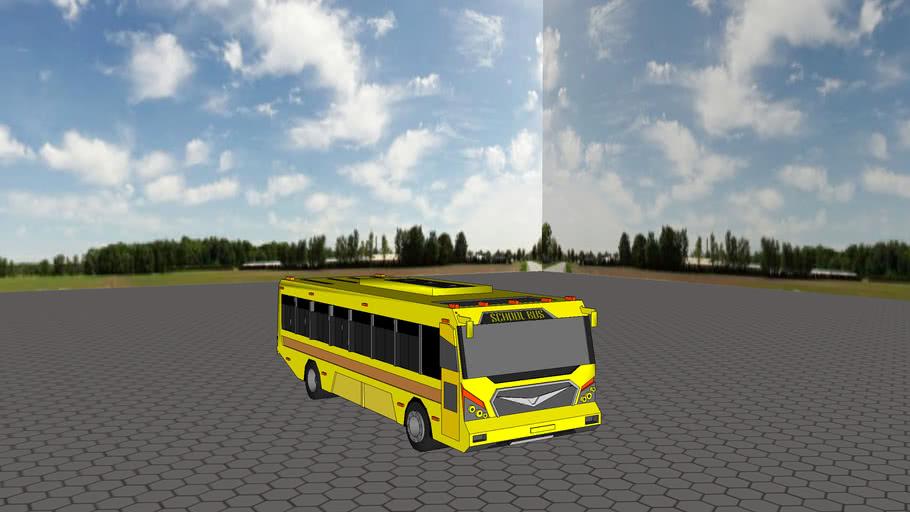 Indian School Bus 3d Warehouse