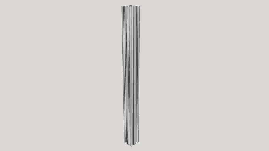 V-Slot 40x40x500 Linear Rail_1_0
