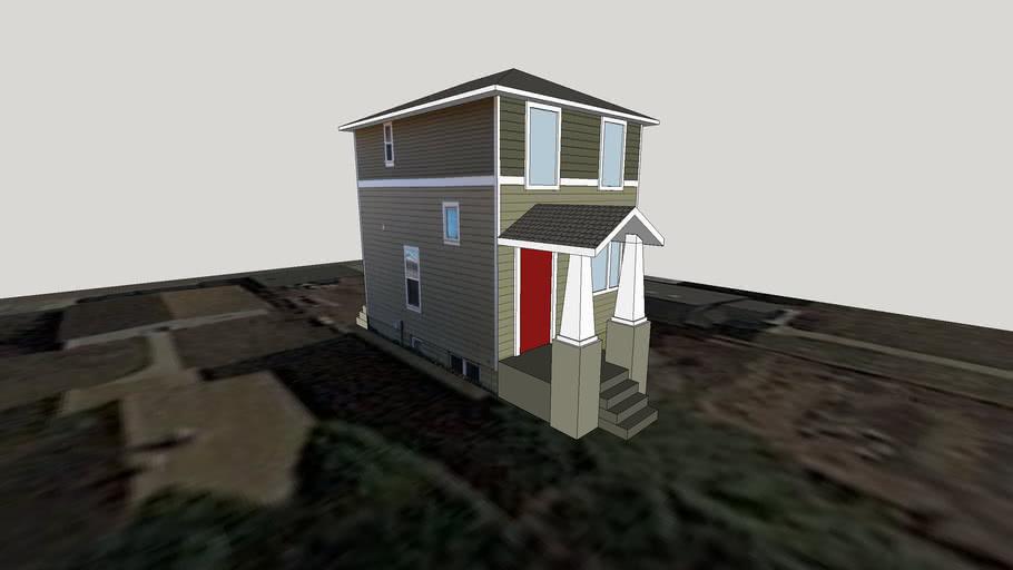 House in Standish Neighborhood, Minneapolis