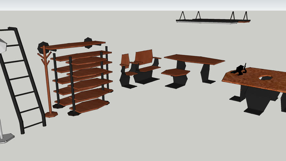 Scifi Furniture Pack