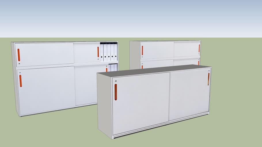 Vitra Acsu Office Storage Unit