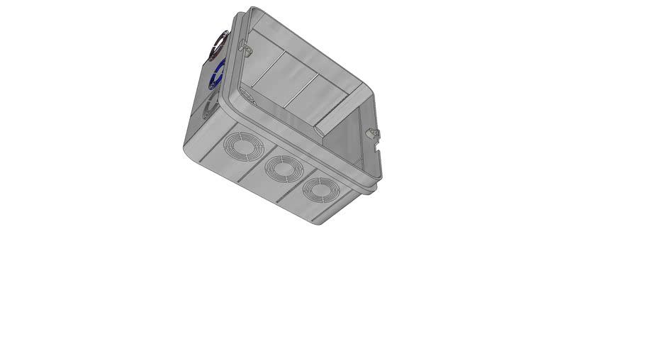 Caja Registro Electrico Galvanizado 10x10