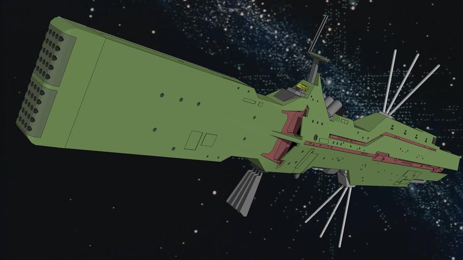 Patoroklos / Free Planets Alliance Battleship
