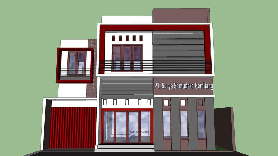 Desain Ruko 3d Warehouse