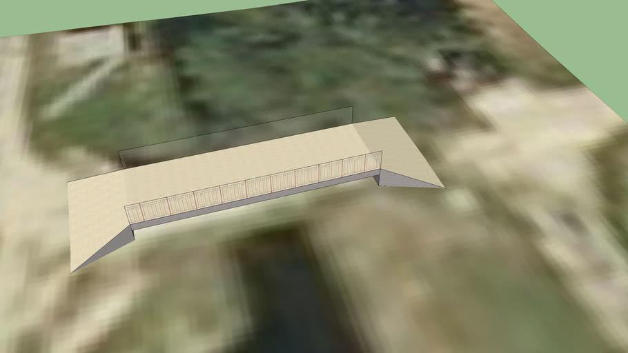 Pont sur le canal d'Entreroches