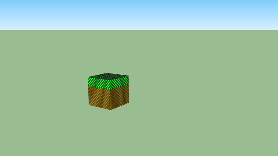 grass block minecraft