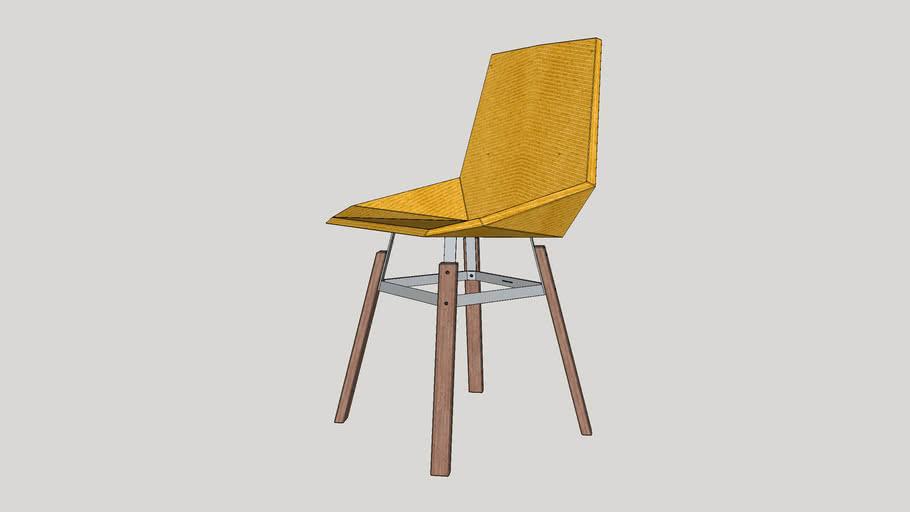 Green chair_amarela_By Marquinhos S.