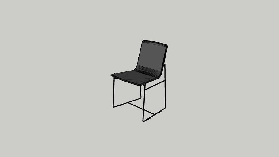 Cadeira Carbono C67 sem braços - Vinicius Siega