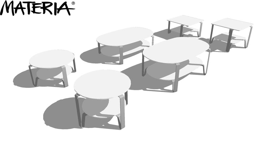 Materia Cosmo Coffee Table 3d Warehouse