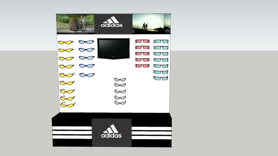Adidas display panel