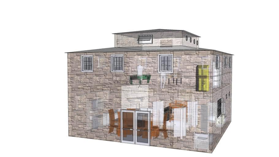 Casa com 3 andares