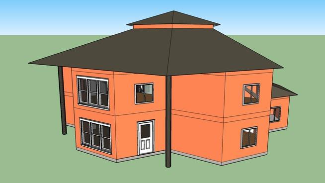 H-18 - Hexagonal House