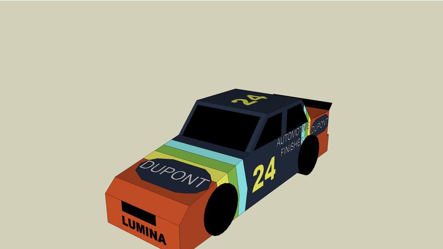 Jeff Gordon's 1993 rookie car