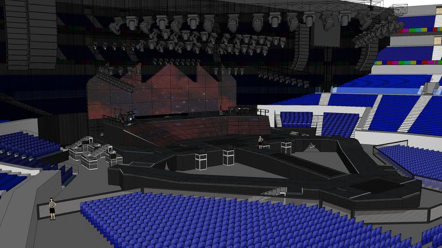 Justin Bieber's Purpose World Tour (Stage Design)
