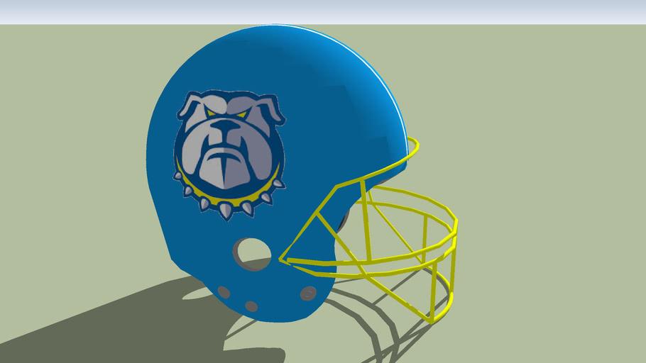 Trnava Bulldogs football helmet