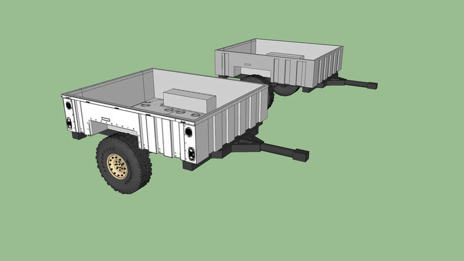 M1101 Military Trailer