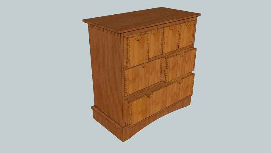 Box Joint Storage Chest