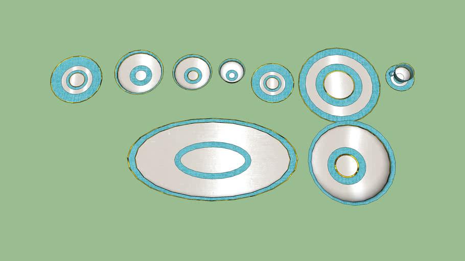blue linen dinnerware
